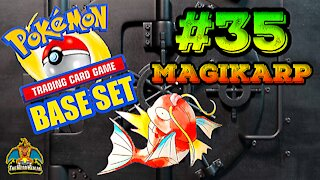 Pokemon Base Set #35 Magikarp | Card Vault