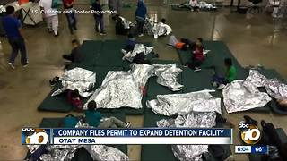 Company files permit to expand detention center - Video