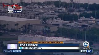 Early-morning fire at Taylor Creek Marina in Fort Pierce - Video