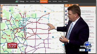Highways and roads closed across Colorado because of blizzard -- 1:15 p.m. update
