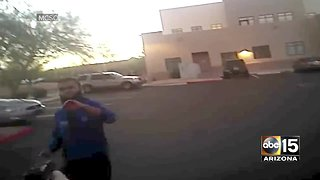 Law enforcement releases video of Fountain Hills terror suspect shooting