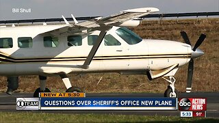 Pinellas County Sheriff's Office plane purchase raises questions