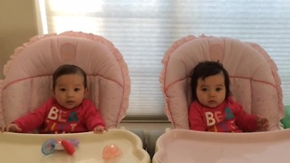 Dad captures twins first year of life, a second a day - Video