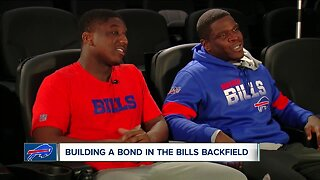 Special bond in the Bills' Backfield