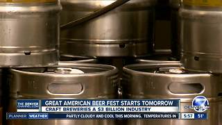 Study: Colorado craft breweries a $3 billion dollar industry - Video