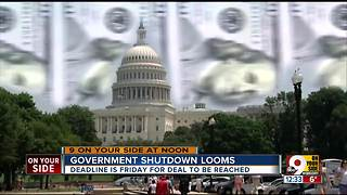 Government shutdown looms - Video