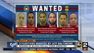 Reward offered for 3 fugitives wanted for murder - Video