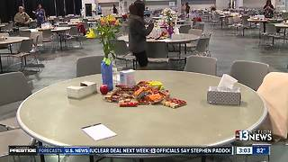 A look inside the family assistance center - Video