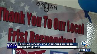 Fundraiser held for West Palm Beach officers - Video