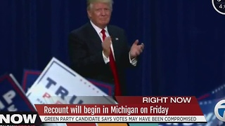 Donald Trump wins Michigan's 16 electoral votes, state board says - Video