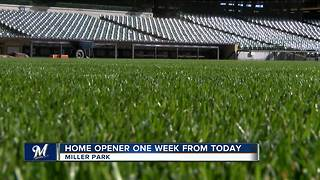 Miller Park grounds ready for home opener - Video