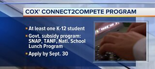 Low-cost internet program for CCSD families