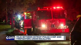 DPD launches investigation into president of Detroit firefighters union after Facebook post