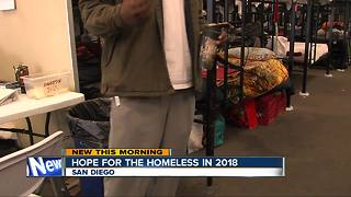 Hope for San Diego Homeless in 2018 - Video