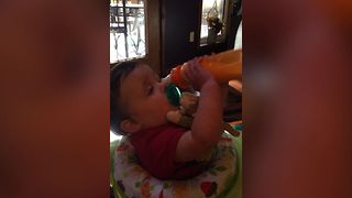 Baby's Dinner Trouble - Video