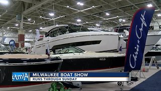 Over 400 boats on display at Milwaukee Boat Show