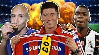 Robert Lewandowski Is The Best FREE Transfer Ever Because... | #SundayVibes | Feat. Yungen - Video