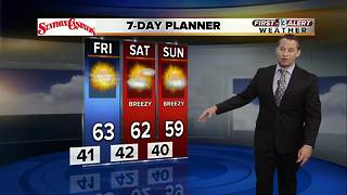 13 First Alert Weather for December 13 2017 - Video