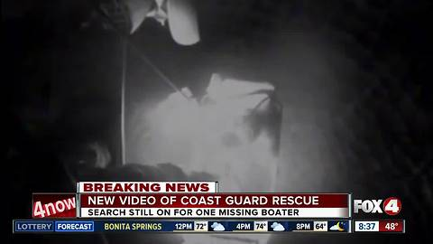 Coast Guard rescues three men from Gulf of Mexico, one still missing