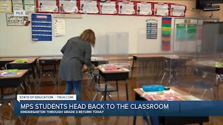 MPS students head back to the classroom