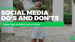 Dos and don'ts of social media: What you should never share! - Video