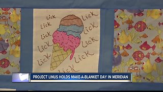 Project Linus holds 'make a blanket day'