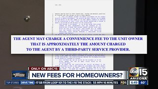 New fees for homeowners?