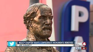 NAACP Chapter Wants Confederate Monument Removed - Video