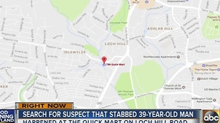 Towson convenience store employee stabbed