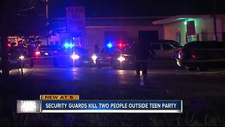 15-year-old among two dead after shooting outside teen club event in Tampa - Video