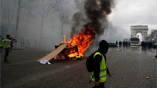 Violence Flares In France As Yellow Vest Protests Enter Fourth Month - Video