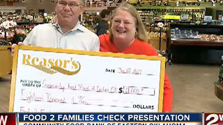 Food 2 Families: Green Country Donates $18,000 to Community Food Bank of Eastern OK - Video