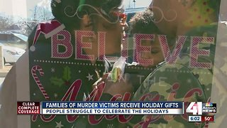 Families impacted by violence treated to holiday gifts, meals