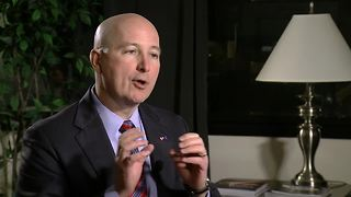Nebraska Gov. Pete Ricketts on taxes, higher education, DACA, and the state economy - Video