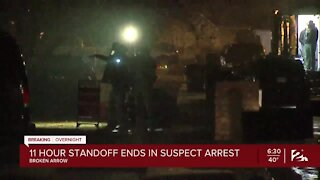 11 hour standoff ends in suspect arrest