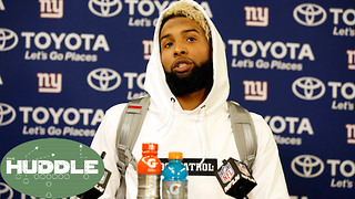 Odell Beckham Jr LEAVING the Giants After This Season?! -The Huddle - Video
