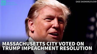 City To Vote On Trump Impeachment Resolution - Video