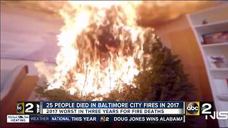 2017 worst year for fire fatalities in last 3 years - Video