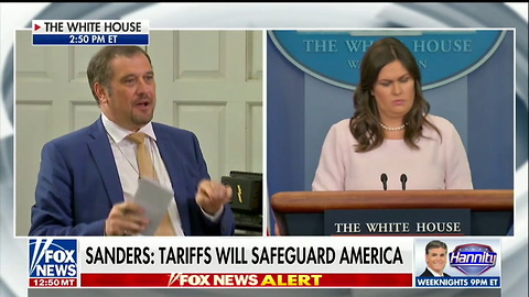 Sarah Sanders Goes Off On Media to Their Faces: You 'Write Things the American People Don't Care About'