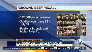 Ground beef recalled expanded