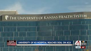 KU Health System to offer ACA coverage - Video