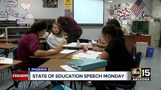 Preview of Arizona's 2018 education speech - Video