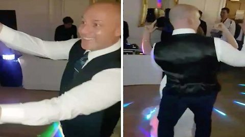 Newlywed Couple Performs Their First Dance To 'Baby Shark'