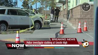 Police investigate report of stabbing at Lincoln High