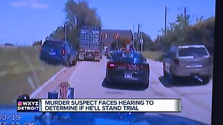 Murder suspect faces hearing to determine if he'll stand trial.