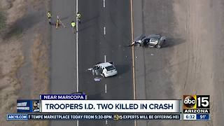Troopers ID two killed in CR 347 crash - Video