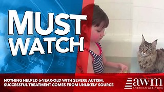 Nothing Helped 6-Year-Old With Severe Autism, Successful Treatment Comes From Unlikely Source - Video