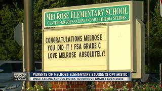 Once-failing school hopes to improve grades even more - Video
