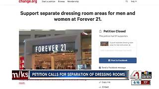 Petition calls for separation of dressing rooms - Video