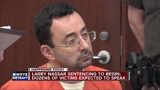 Larry Nassar sentencing to begin, dozens of victims expected to speak - Video
